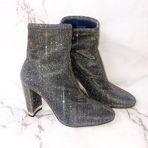 Michael Michael Kors Mandy bootie glitter gold